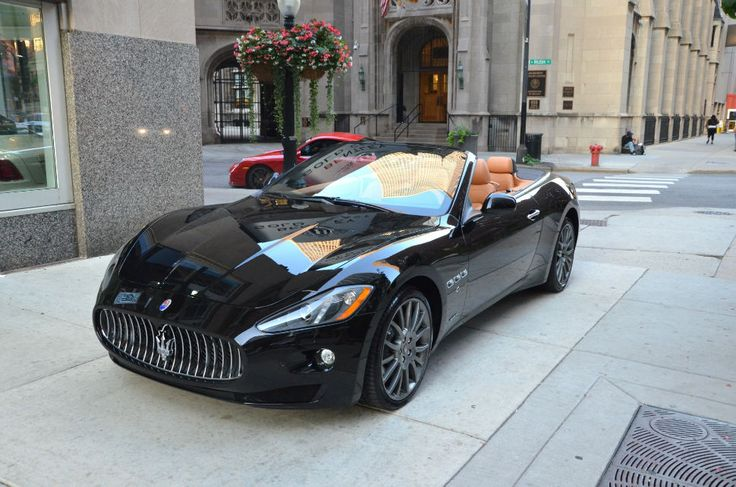 2014 Maserati Convertible Black