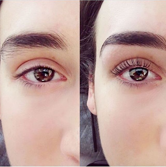 Lash Lifts are the newest beauty trend! Get fanned, beautiful lashes- did we mention they're naturally yours?