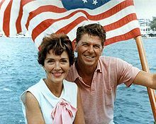 """whatever I treasure and enjoy ... all would be without meaning if I didn't have you."" - Ronald Reagan. I love this picture"