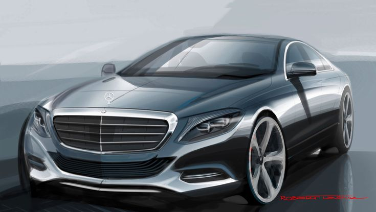 2014 Mercedes-Benz S-Class - Design Sketch