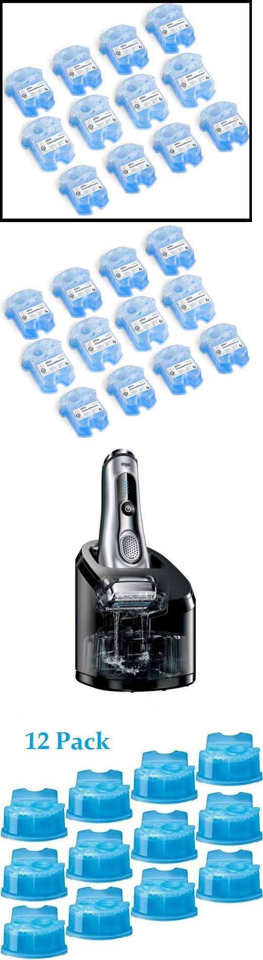 Mens Shavers: Braun Clean And Renew System Cartridges Refills Ccr3 Series 3 5 7 9 Shaver, All Pk -> BUY IT NOW ONLY: $54.99 on eBay!