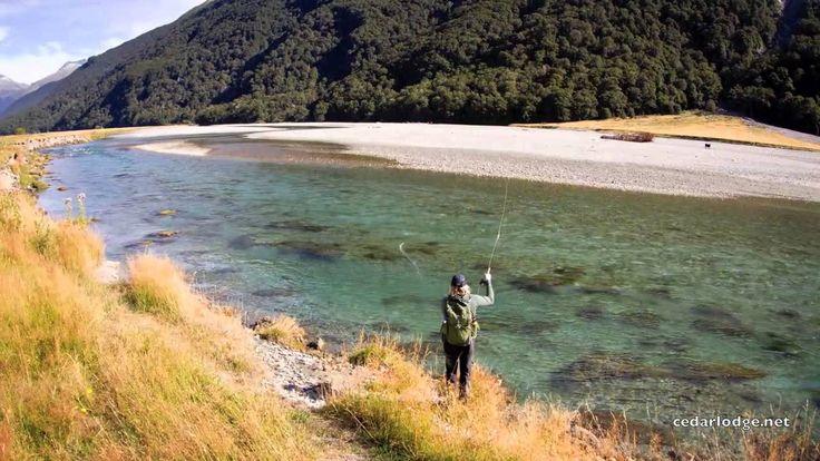 Cedar Lodge Heli Fishing in New Zealand
