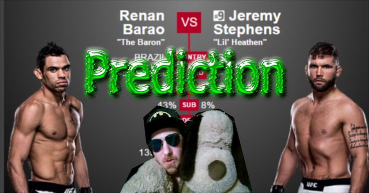 Prediction Renan Barao vs Jeremy Stephens UFC Fight Night 88 Las Vegas