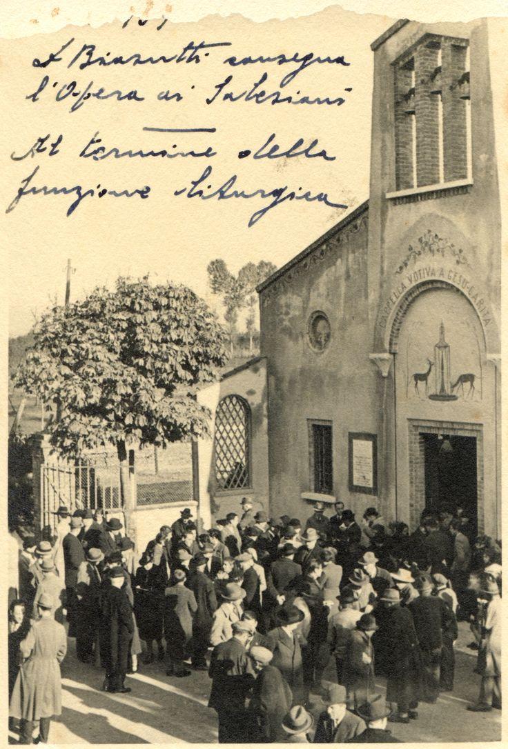 Fotografia Storica del 1939 #bearzi #udine #salesiani #fvg #donbosco #chiesa #giovani #formazione #lavoro #donbosco #scuola #istruzione #cfp #famiglia #salesian #love #peace www.bearzi.it