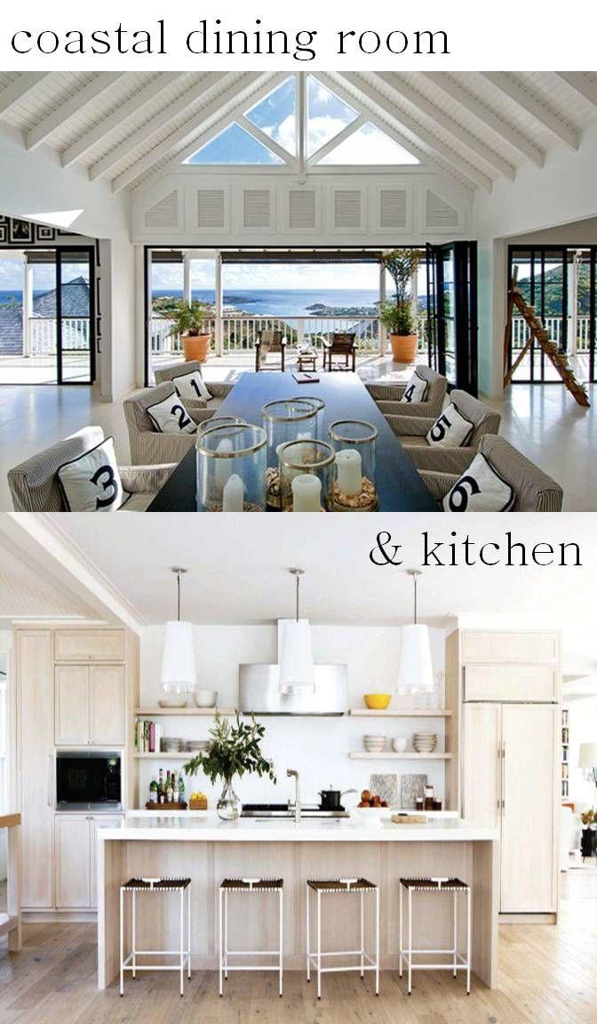 Coastal Kitchen Design Interior Photo Decorating Inspiration