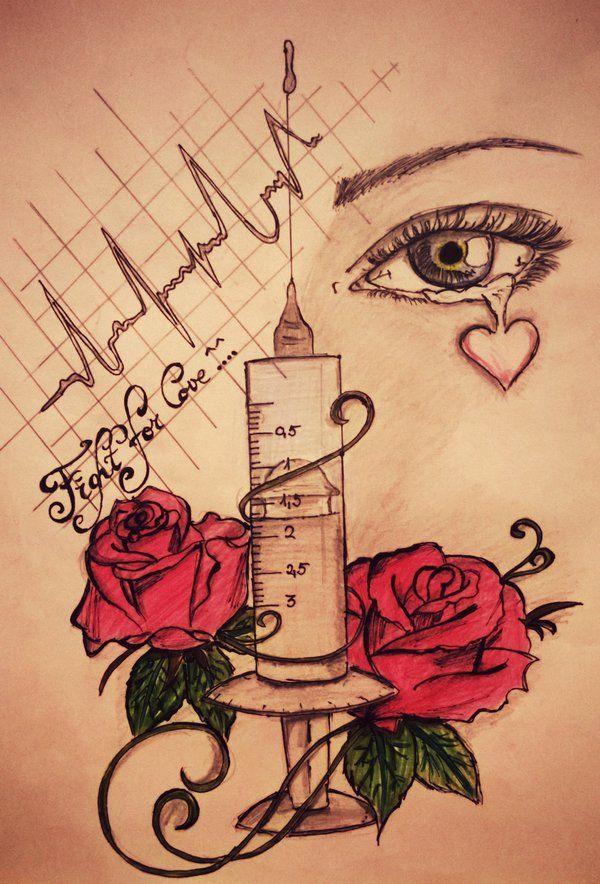 Fight for love by tattoo-love-forever.deviantart.com on @DeviantArt