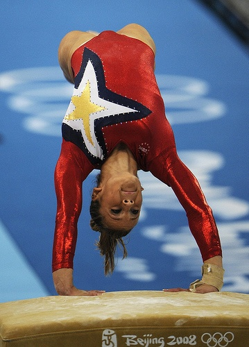 Alicia Sacramone (United States) by jodfevic, via Flickr  gymnast, gymnastics