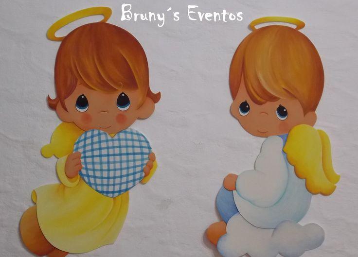 dibujos de angelitos en goma eva - Buscar con Google