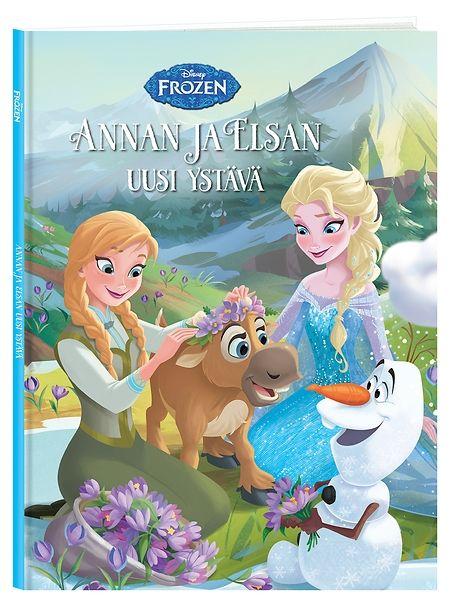 Frozen, Annan ja Elsan uusi ystävä kertoo ihanan sadun, jossa kuningatar Elsa ja hänen sisarensa Anna valmistelevat tanssiaisia Arendelin asukkaille. He päättävät koristella juhlasalin ihanilla krookuksilla, mutta joutuvat kukkia poimiessaan auttamaan pulaan joutunutta pikku poroa. Miten tytöt aikovat pelastaa uuden ystävänsä, ja kuinka juhlien nyt käy?