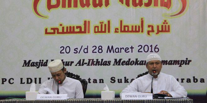PC LDII Sukolilo Gelar Khataman Kitab Syarah Asmaul Husna