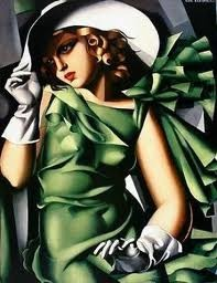 This is lady in green and like her eyes...