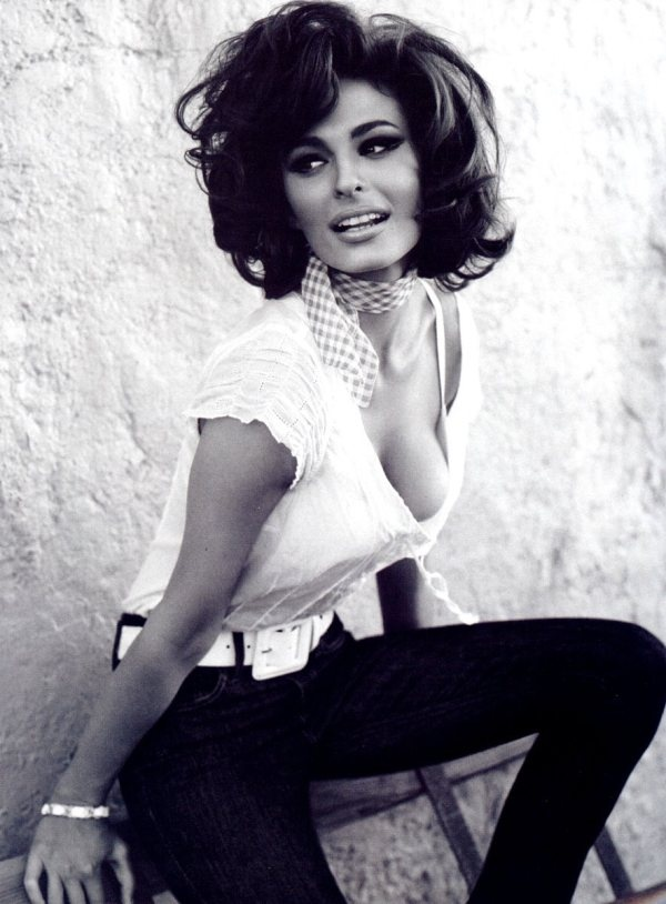 """""""Sex appeal is fifty percent what you've got and fifty percent what people think you've got."""" - Sophia Loren"""