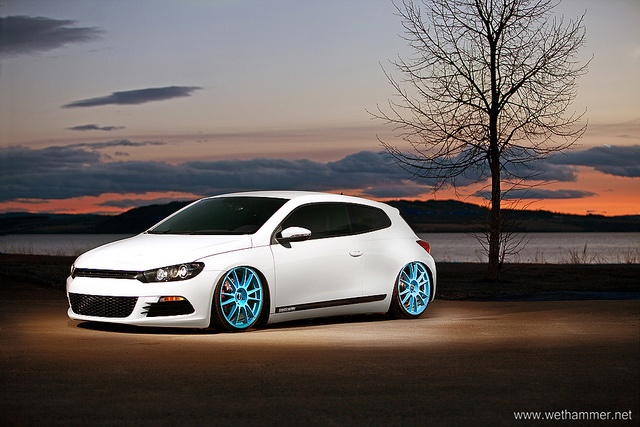 Nice concept of Bagged Scirocco with Ultraleggera rims by stianw