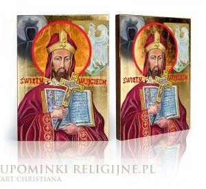 Ikona Święty Wojciech-Patron Polski