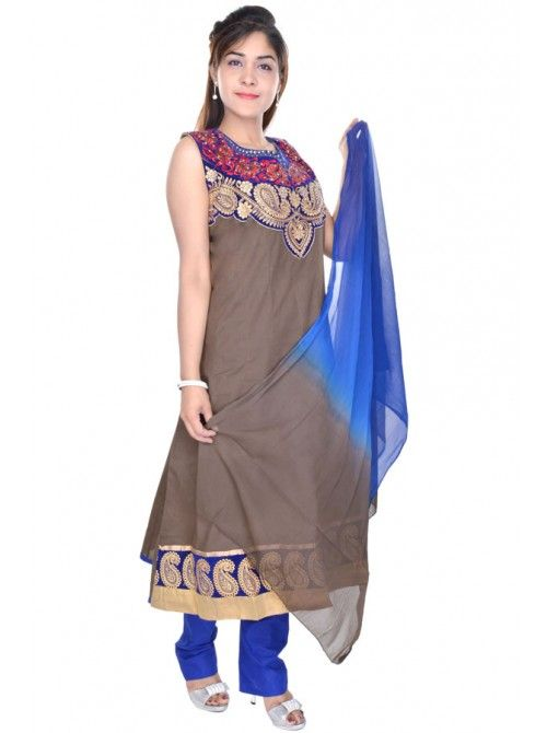 Get discount upto 35% on anarkali suits  https://www.crazora.com/anarkali-suits/vareez-saddle-brown-cotton-anarkali-suit-9731.html