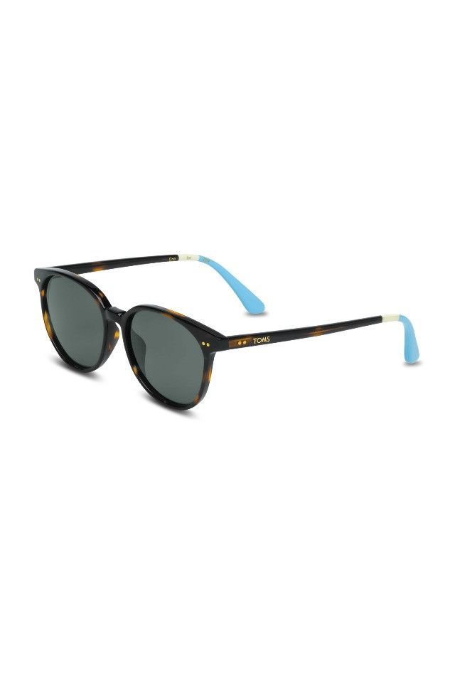 Toms THE BELLINI - Tortoise and Off White Sunglasses AUD$230.00 available at www.carousel.com.au