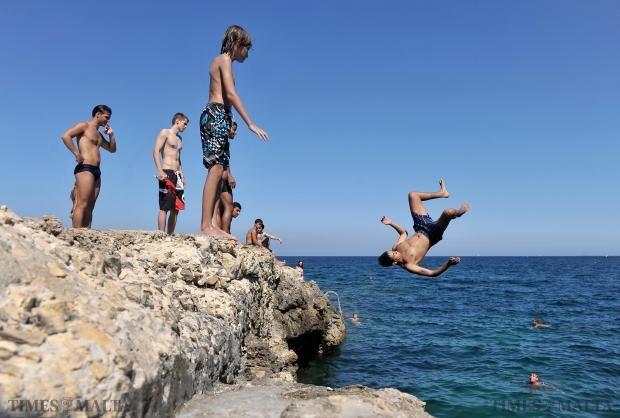 Fun in the #Sun #Sliema #Malta Photo: Chris Sant Fournier