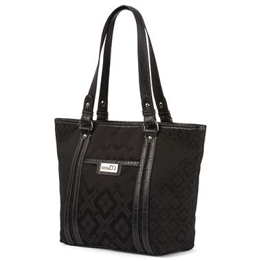 nine co 174 downing jacquard tote jcpenney bagfetish