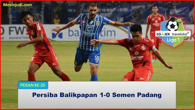Persiba Balikpapan 1-0 Semen Padang