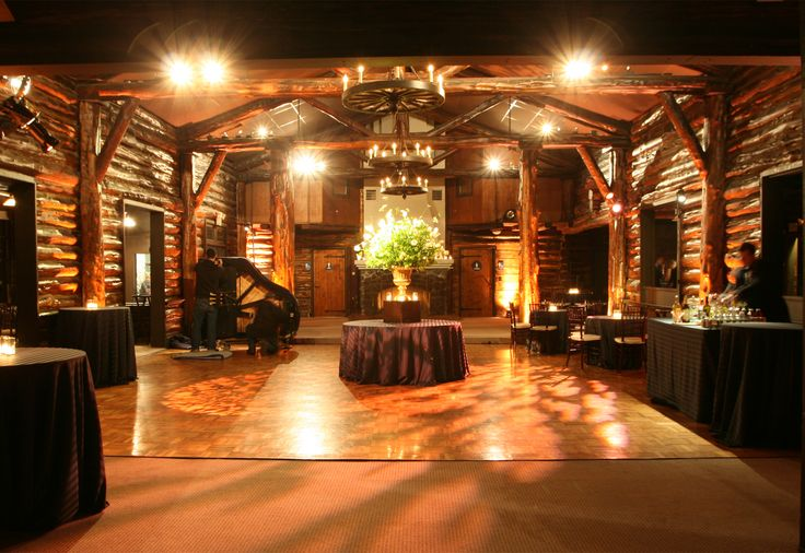 107 best images about log homes on pinterest lakes for Cabin wedding venues