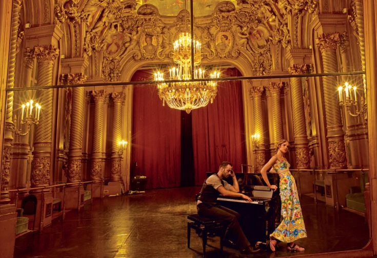 Grand Entrance: Natalia Vodianova and the Paris Opera Ballet's Benjamin Millepied – Vogue