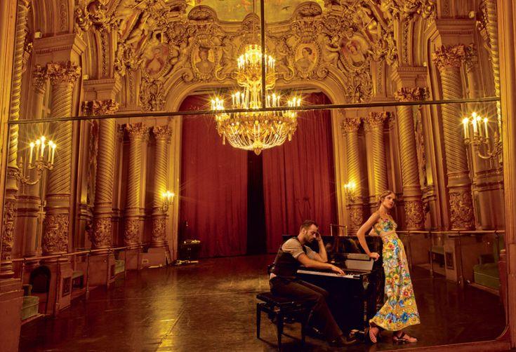 Grand Entrance: Natalia Vodianova and the Paris Opera Ballet's Benjamin Millepied – Vogue