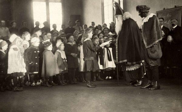 Sinterklaas in 1917