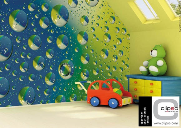 Unusual kids bedroom made by Clipso