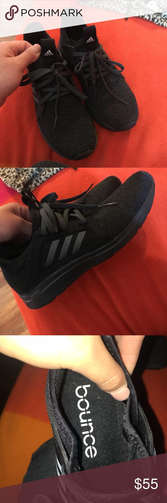 Adidas Bounce Edge Lux Enjoy your workout with these super comfortable shoes! Bought them & I only wore them about 6 times. In great condition ☺️ adidas Shoes Athletic Shoes