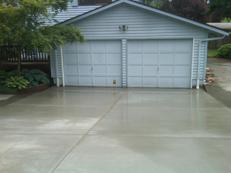 Driveway with curtain drain plus we tied in the for Outdoor curtain drain