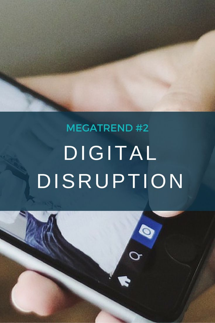 Enabled by the growth of social media and connected devices, plus an increased expectation that information is instantly accessible, disruptors are exploiting digital tools and platforms to offer new value to customers.