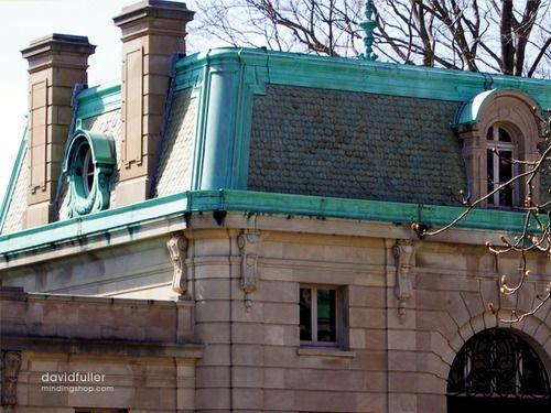 Mansardendach, Außenwandfarbe, Design Blogs, Dachboden, Französische  Architektur