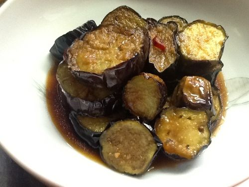 deep fried eggplant