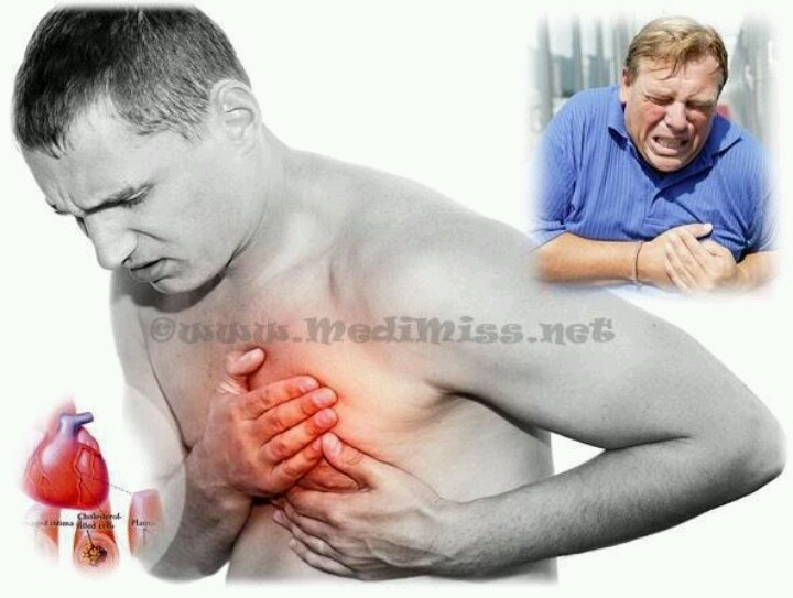 During a heart attack and u are alone!
