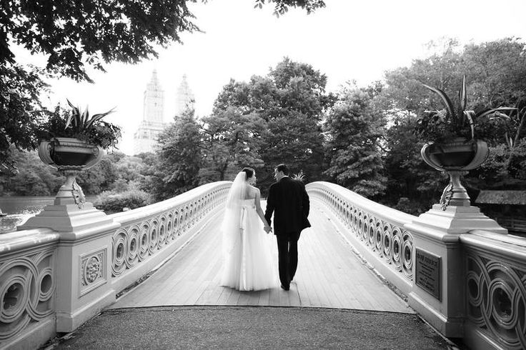 possible wedding destination: Bow Bridge, Central Park, NY