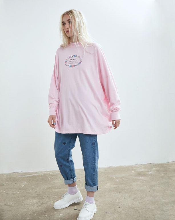 Lazy Oaf Socially Awkward T-shirt - Everything - Categories - Womens