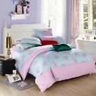 Pink Flower Single Double Queen King Size Bed Set Pillowcase Quilt Duvet Cover  Price 1.04 USD 2 Bids. End Time: 2017-02-22 06:06:31 PDT