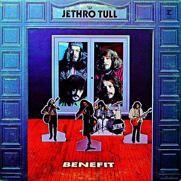 Jethro Tull Benefit Marzo 1970 Jethro Tull Rock Album Covers