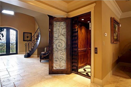 Need a lift?  There is an elevator in the San Antonio home.