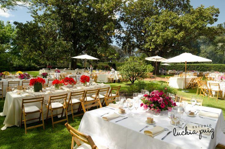 Ambientaci n de boda con estilo campestre fotografia for Ambientacion para bodas