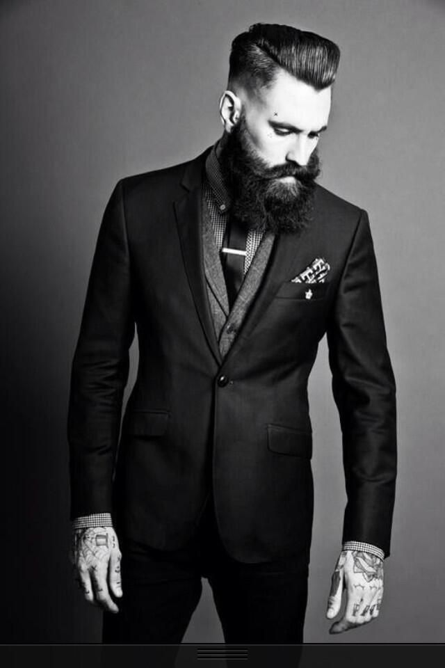 Ricki Hall In Suit Fashion Photography