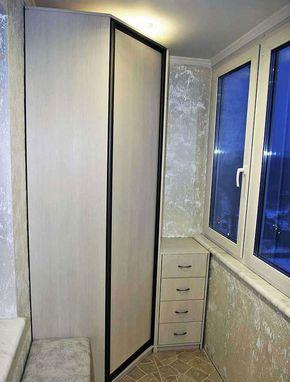 Шкаф на балкон своими руками: как правильно сделать и рассчитать?