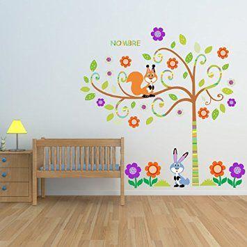 M s de 1000 ideas sobre rboles pintados en pinterest for Espejos decorativos infantiles