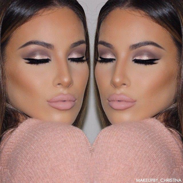 """""""✨ Brows: @anastasiabeverlyhills dip brow in soft brown & brow wiz in medium brown Eyes: @stilacosmetics Soul Eyeshadow Palette. Used heart, light,…"""""""
