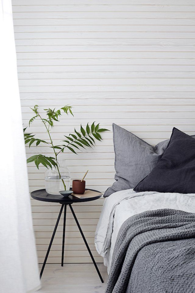 Green Home / Kinfolk Bedroom / De simples branches pour une décoration épurée