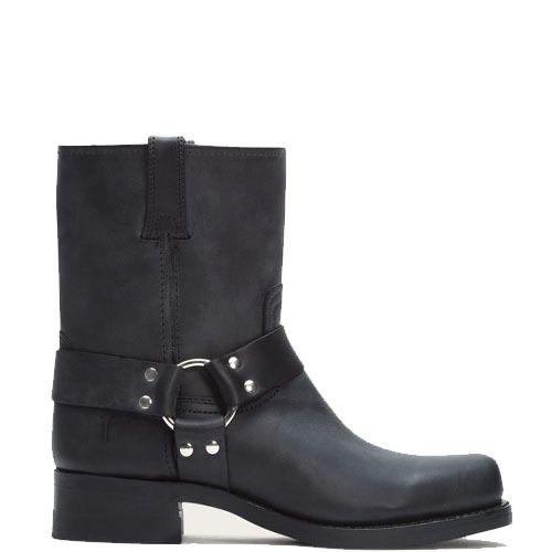 Frye cowboylaarzen heren Harness 8R zwart - Men Boots in Black. International shipping -> free shipping in Europe. https://www.boeties.nl/frye-cowboylaarzen-heren-harness-8r-zwart-87400blk