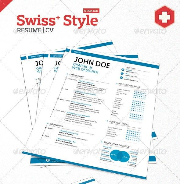 193 best Resume design images on Pinterest Advertising - updated resume
