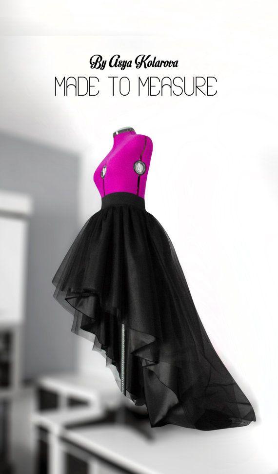dab40d0341 Pin by Asya Kolarova on Made To Measure Clothes | Satin skirt, Taffeta skirt,  Long black tulle skirt