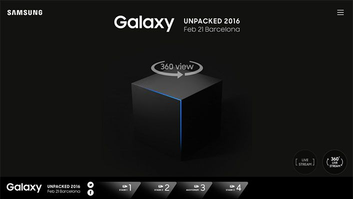 Will We See the Samsung Galaxy S7 Revealing with 360 Live Streaming?