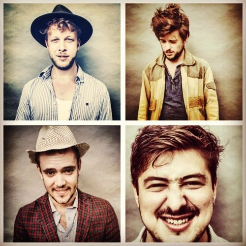Mumford and sons..pinning since i'm listening to them for the first time today and i'm in love.